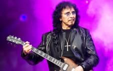 Veteran rock guitarist Tony Iommi. Picture: AFP.
