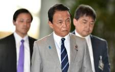 Japanese Deputy Prime Minister Taro Aso. Picture: AFP
