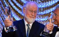 Composer John Williams receives two awards at the 60th Annual BMI Film And Television Awards at the Four Seasons Beverly Wilshire Hotel on May 16, 2012 in Beverly Hills, California. Picture: AFP.