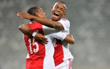 Ajax Cape Town has confirmed that Cecil Lolo, right, was killed in a car crash in Khayelitsha on 24 October 2015. Picture: Ajax Cape Town Facebook page.