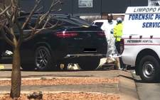 The bodies of two women were found at an industrial site in Polokwane in Limpopo after being shot by four unknown gunmen on 10 October 2020. Picture: Arrive Alive