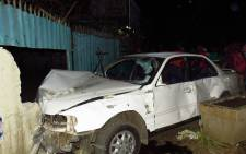 Four pedestrians were killed after a vehicle crashed into them on Thursday 2 June 2016, in Boksburg. Picture: Ekurhuleni Emergency Services.