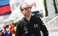 F1 driver Robert Kubica. Picture: @R_Kubica/Twitter