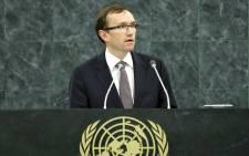 UN Secretary General's special adviser on Cyprus Espen Barth Eide. Picture: United Nations Photo.