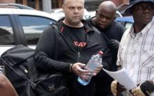 FILE: Czech fugitive Radovan Krejcir.