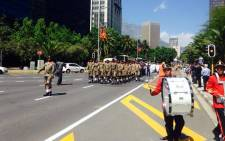 The City of Cape Town is hosting its annual Remembrance Day celebrations in the CBD. Picture: Shamiela Fisher/EWN.