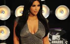 UNITED STATES, Los Angeles : Celebrity personality Kim Kardashian arrives at the 2011 MTV Video Music Awards (VMAs) August 28, 2011 at the Noika Theatre in downtown Los Angeles, California. AFP PHOTO / Frederic J. Brown