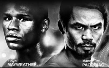 Floyd Mayweather vs Manny Pacquiao. Picture: Facebook.