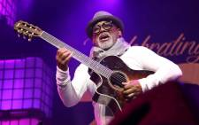 Cape Town-born guitarist Jonathan Butler jams out at the Cape Town International Jazz Fest on 30 March 2019. Picture: Bertram Malgas/EWN