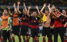 FILE; Germany will take on Argentina in World Cup final. Picture: AFP