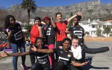 Badgers Football club in Cape Town hosted a five-a-side tournament fundraiser on Women's Day, 9 August 2018, to send three girls to New York. Picture: Kaylynn Palm/EWN.