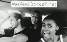 One of the images used to promote the #ColorBlind campaign. Picture: Facebook