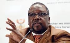 Public Works Minister Nathi Nhleko. Picture: GCIS.