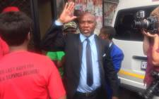 Apartheid prisoner Kenny Motsamai has been released on full parole after 27 years at the Boksburg Prison. Picture: Victor Magwedze/EWN