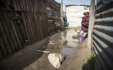 FILE: Flooding in the informal settlement of Sweet Home Farm in Philippi. Picture: Thomas Holder/EWN.