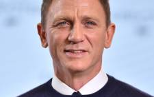 British actor Daniel Craig. Picture: AFP