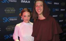 Fans attend the 'Star Wars: The Force Awakens' premiere in South Africa on 16 December 2015. Picture: Louise McAuliffe/EWN.