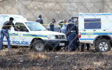 Police officers conducted raids on shebeens in Krugersdorp and Tembisa. Picture: Taurai Maduna/EWN.