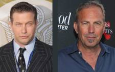 Stephen Baldwin and Kevin Costner. Picture: AFP