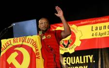 Socialist Revolutionary Workers Party (SRWP) convenor Irvin Jim. Picture: @SRWPSouthAfrica/Twitter