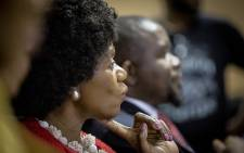 Advocate Thuli Madonsela thanks the media during her last press briefing as the country's Public Protector in Pretoria on 14 October 2016. Picture: Reinart Toerien/EWN