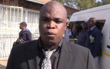 Member of the Mayoral Committee for Public Safety in the City of Johannesburg, Clr Sello Lemao launched a winter fire safety campaign in Alexandra in aid to educating the community on ho to combat fires. Picture Kgothatso Mogale/EWN