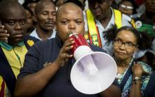 FILE: ANCYL president Collen Maine addresses a crowd of ANC supporters. Picture: EWN