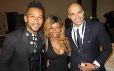 Chad Saaiman, Boity Thulo and Jimmy Nevis - Ambassadors for Step Up 2 A Start Up. Picture: Louise McAuliffe/EWN