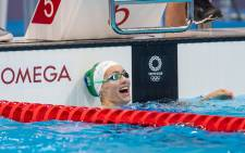 South Africa's 100 metre breaststroke gold medalist Tatjana Schoenmaker set new record in the 100m breaststroke heat on Sunday, 25 July 2021 at the 2020 Tokyo Olympic games. Picture: Twitter/@TeamSA2020