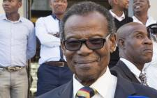 FILE: Inkatha Freedom Party leader Mangosuthu Buthelezi.