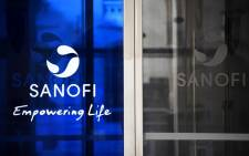 Sanofi's logo at its headquarters in Paris, France. Picture: AFP