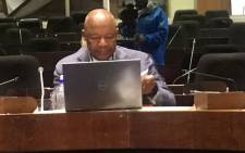 Former Public Investment Corporation (PIC) CEO Dan Matjila appearing at the commission of inquiry into the Public Investment Corporation (PIC) on 8 July 2019. Picture: EWN