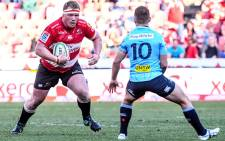 Lions prop Jacques van Rooyen has signed for English club Bath. Picture: Twitter/@Bathrugby.