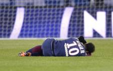 Brazil's Paris St Germain forward Neymar was injured during the French league match against Olympique Marseille. Picture: @neymarjr/Instagram.