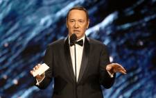 FILE: Kevin Spacey at the 2017 AMD British Academy Britannia Awards on 27 October 2017. Picture: AFP.