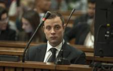 Oscar Pistorius at the High Court in Pretoria on 30 June 2014 for the resumption of his murder trial. Picture: Pool.