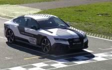 Audi RS7 autonomous car. Picture: YouTube.com