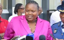 FILE: MEC for community and safety Sizakele Nkosi-Malobane. Picture: EWN