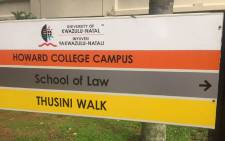 The University of KwaZulu-Natal Howard Campus. Picture: Kgothatso Mogale/EWN.