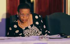 IEC Chairperson Pansy Tlakula is accused of maladministration and misconduct over the acquisition of the IEC headquarters. Picture: Sebabatso Mosamo/EWN.