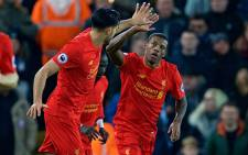 A thundering header from Dutchman Georginio Wijnaldum gave Liverpool a 1-0 win over Premier League title rivals Manchester City on 31 December 2016. Picture: Facebook.