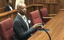 FILE: Former Sars Commissioner Tom Moyane appears in the North Gauteng High Court on 11 December 2018. Picture: Barry Bateman/EWN
