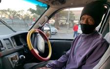 Cape Town taxi driver Rodney Kruger. Picture: Kaylynn Palm/Eyewitness News