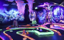 The Glowing Rooms mini golf course. Picture: Cindy Archillies/EWN