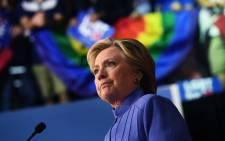 FILE: Hillary Clinton. Picture: AFP