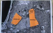 The DA also identified the Ysterplaat Airforce Base and Wingfield Military Base as locations that should be converted into public housing. Picture: Kevin Brandt/Eyewitness News.