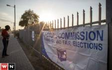 Oudtshoorn election registration gets underway. Picture: Thomas Holder/EWN