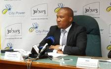 FILE: Former Managing director  of City Power Sicelo Xulu. Picture: @CityofJoburgZA.