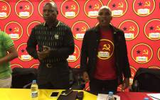 African National Congress (ANC) presidential hopeful Zweli Mkhize at the Young Communist League's summit at Cosatu House on 25 November 2017. Picture: Pelane Phakgadi/EWN.