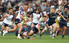 The Melbourne Rebels in action against the Highlanders during their Super Rugby match in Dunedin on 28 February 2020. Picture: @MelbourneRebels/Twitter